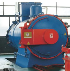 Vacuum brazing carbide furnace